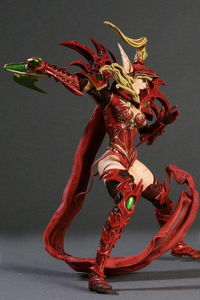 World Of Warcraft, Blood Elf Rogue: Valeera Sanguinar Collector Figure