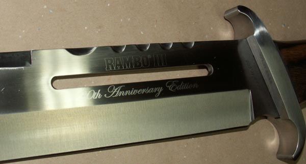 Additional photos: Knife Rambo III 20th Anniversary Master Cutlery