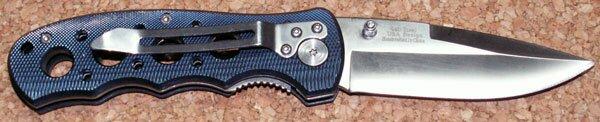 Additional photos: Knife M-Tech Textured Blue Alumnium