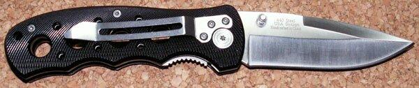 Additional photos: Knife M-Tech Textured Black Alumnium