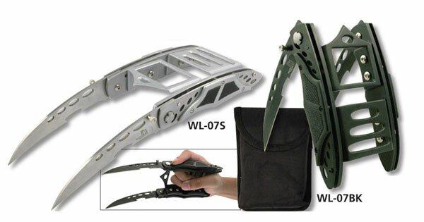 Master Cutlery Cyber Claw Silver