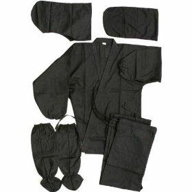 Additional photos: Black Ninja Uniform