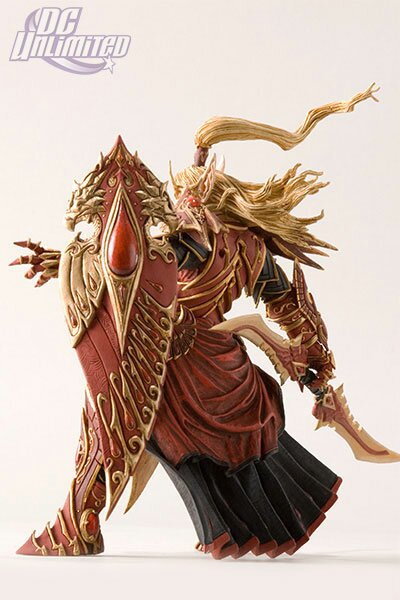Additional photos: World Of Warcraft, Series 3: Blood Elf Paladin: Quin'thalan Sunfire Action Figure