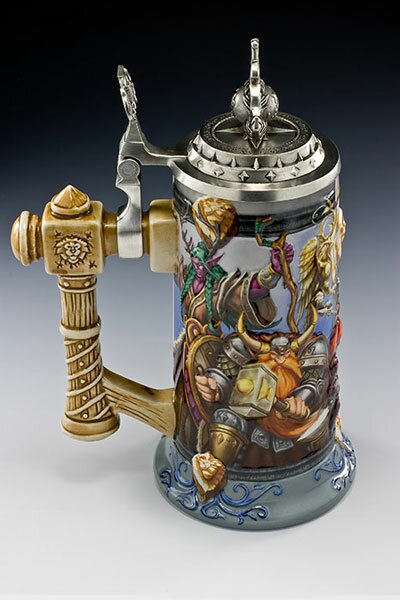 Additional photos: World Of Warcraft Epic Collection Steins Alliance United