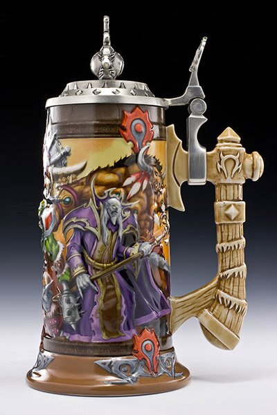 Additional photos: World Of Warcraft Epic Collection Steins Blood of the Horde