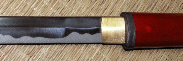 Additional photos: Hanwei Zatoichi Stick/Sword (Red Scabbard)