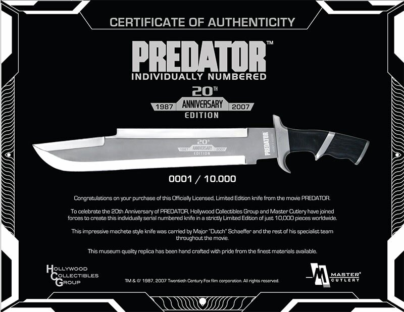Additional photos: Knife Master Cutlery Predator 20th Anniversary