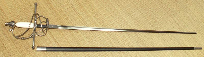 Additional photos: Hanwei Bone Handled Swept Hilt Rapier