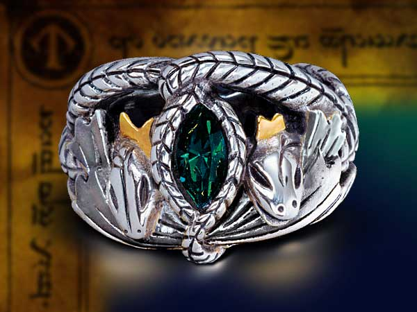 Additional photos: Aragorn's Silver Ring from The Lord of the Rings