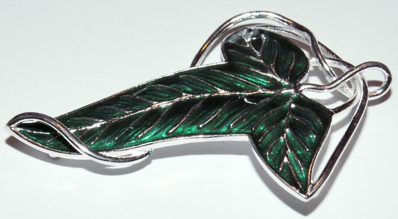 Additional photos: Elven Brooch Sterling Silver - The Lord of the Rings
