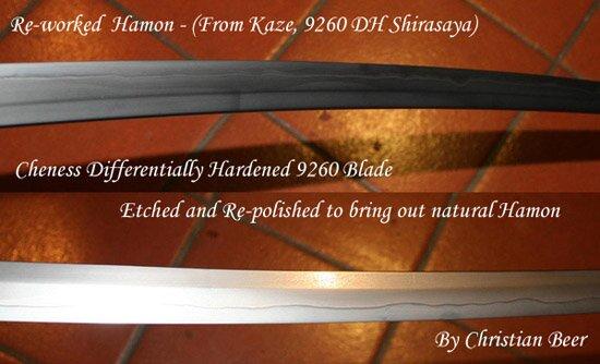 Katana Cheness Differentially Hardened Kaze