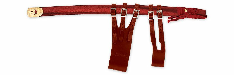 Red scabbard