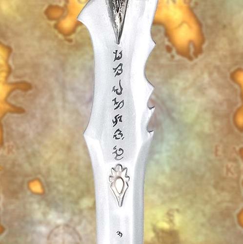 Additional photos: LARP Frostmourne Sword - Latex