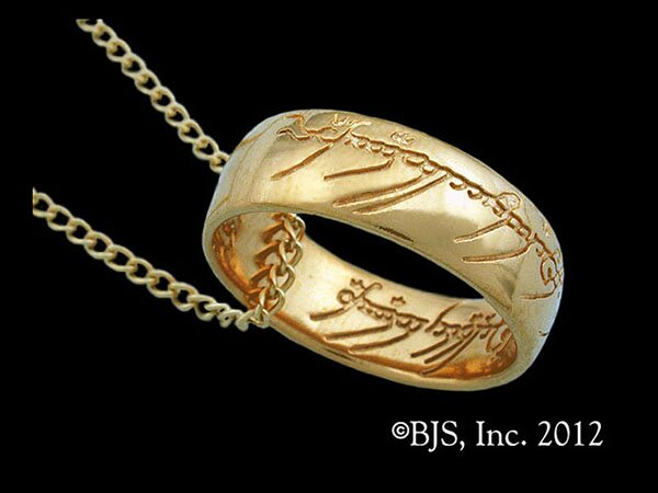 Additional photos: LOTR Gollum Gold Necklace