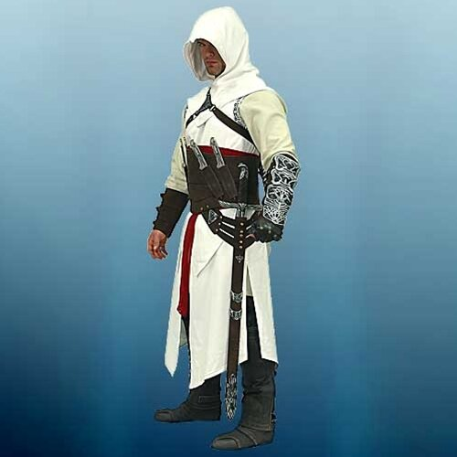 Altair Over Tunic With Hood