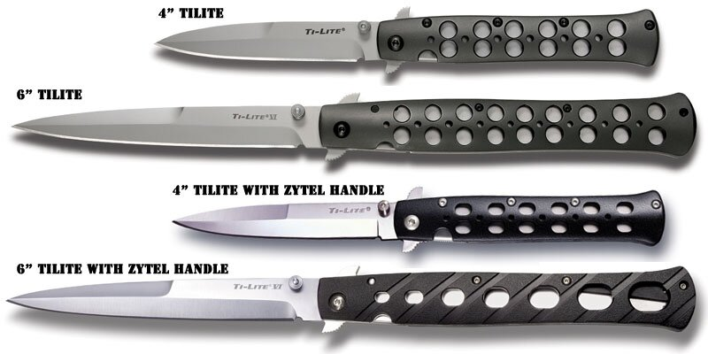 Additional photos: Knife Cold Steel Ti-Lite VI XHP
