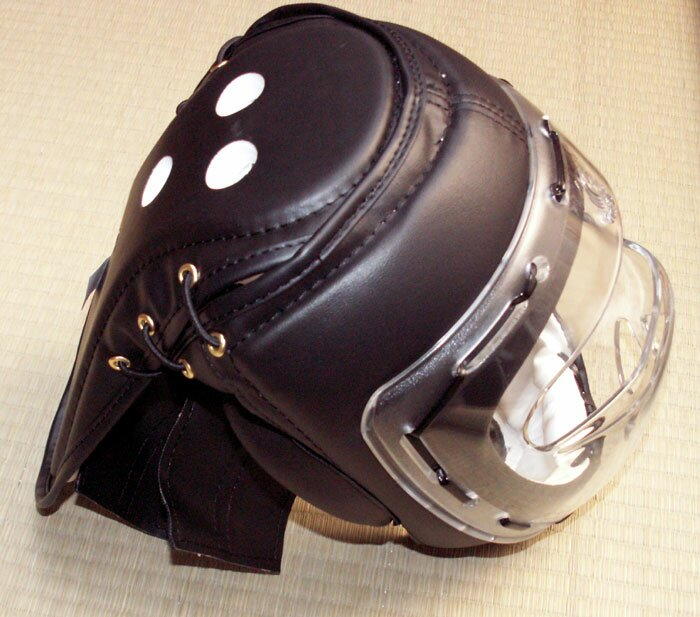 Additional photos: PU Head Guars Black with mask