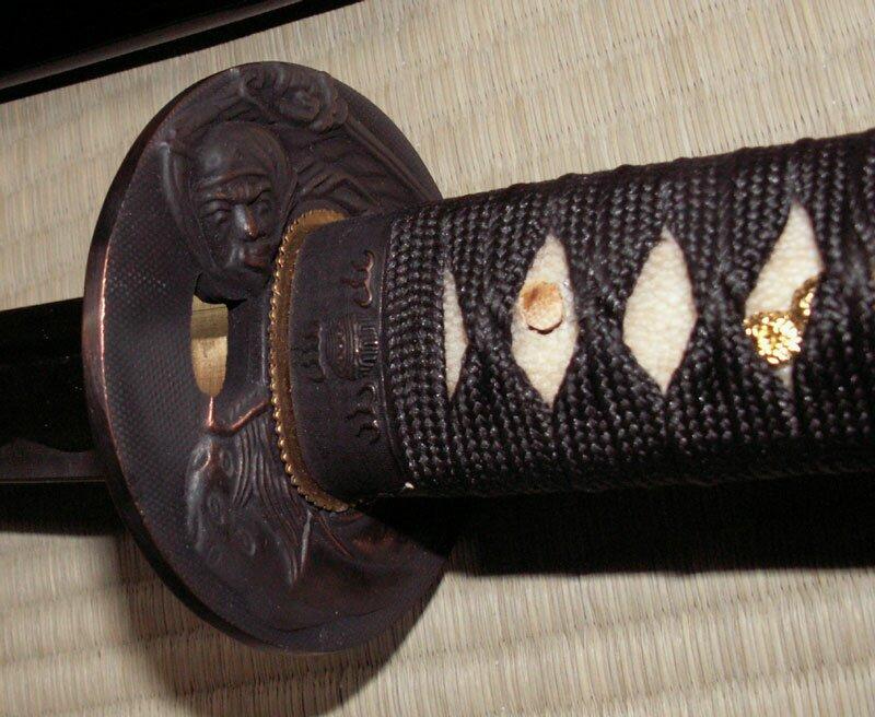 Ten Ryu Handmade Black Katana