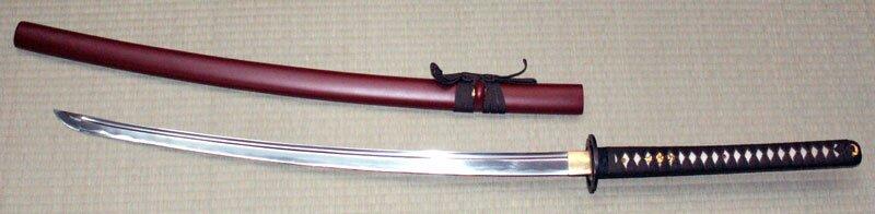 Ten Ryu Handmade Brown Musashi Katana