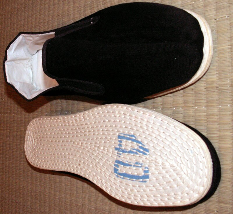 Additional photos: Qi Gong Slippers Black, Cotton Sole