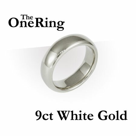 Additional photos: One Ring - 9ct White Gold