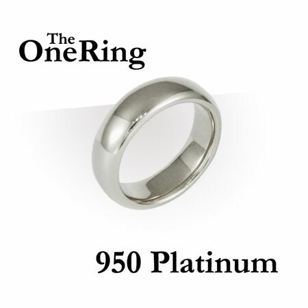 Additional photos: One Ring - 950 Platinum