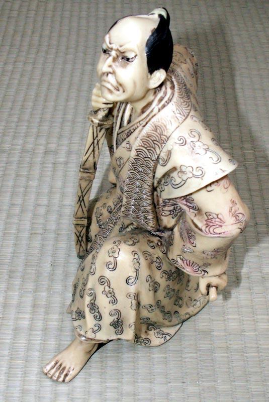 Additional photos: Samurai - Ivory imitation