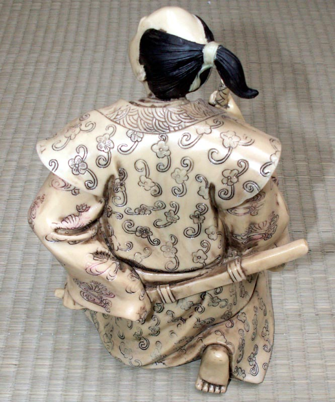 Additional photos: Samurai - Ivory imitation