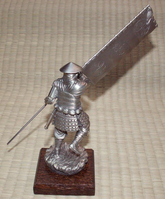 Additional photos: Samurai with Sashimono - Les Etains Du Graal