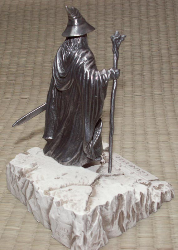 Additional photos: LOTR Gandalf Figure - Les Etains Du Graal