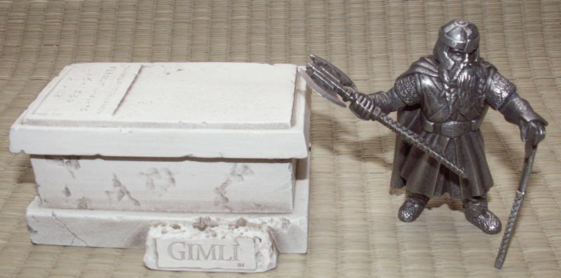 LOTR Gimli Figure - Les Etains Du Graal