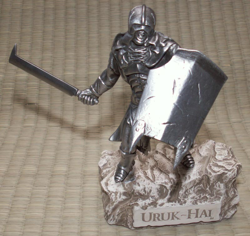 Additional photos: LOTR Uruk Hai Figure - Les Etains Du Graal