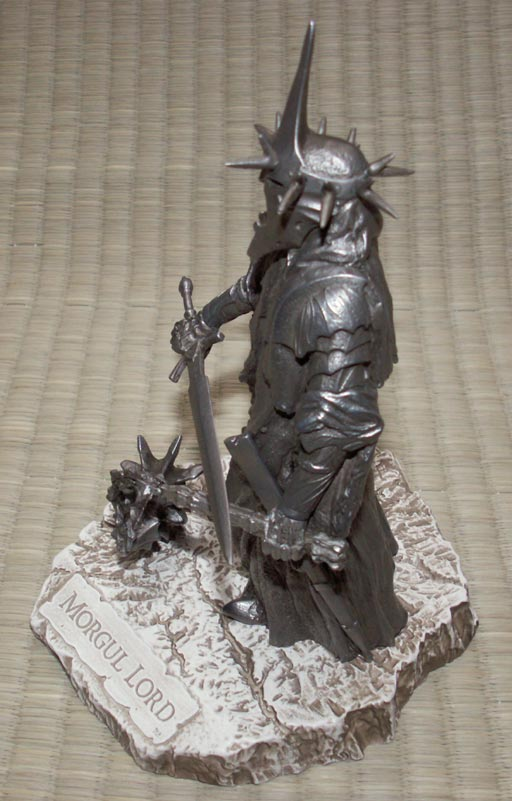 Additional photos: LOTR Morgul Lord Figure - Les Etains Du Graal