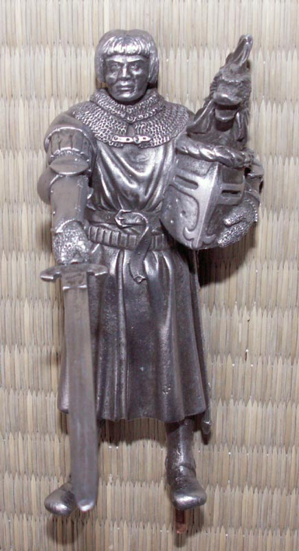 Additional photos: Figure Lancelot - Knights of the Round Table - Les Etains Du Graal