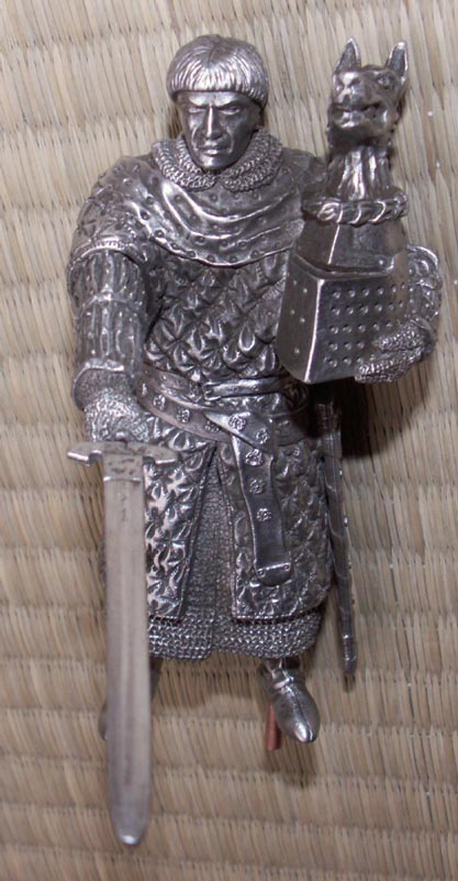Additional photos: Figure Bors de Granis - Knights of the Round Table - Les Etains Du Graal