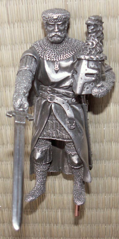 Additional photos: Figure Gawain - Knights of the Round Table - Les Etains Du Graal