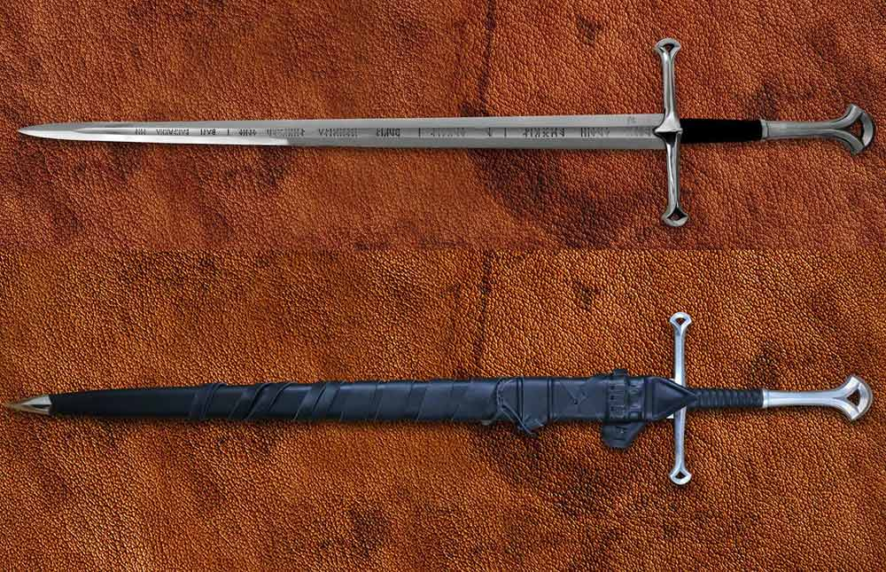 Additional photos: The Anduril - LOTR forged sword