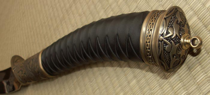 Official Hellboy II Sword - Gold Edition