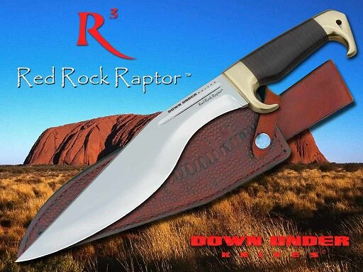 Additional photos: Down Under Knives RED ROCK RAPTOR