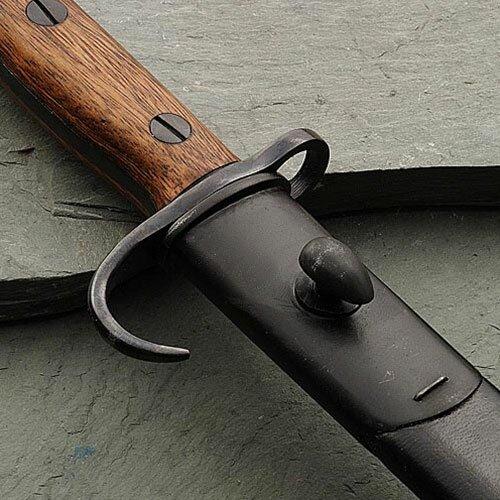 Additional photos: 1907 Bayonet w/ Hooked Quillion & Sheath
