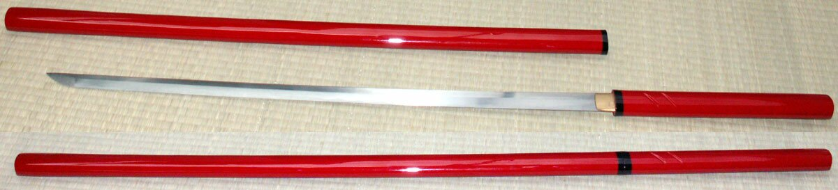 Additional photos: Zatoichi Hand Forged Sword Red