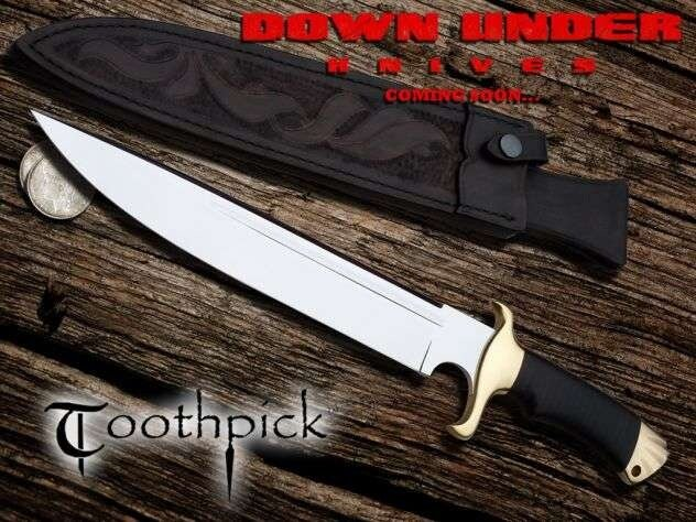 Additional photos: Down Under Knives The Toothpick