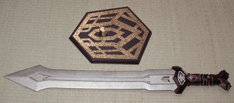 Additional photos: Hobbit - Thorin`s Dwarven Sword Replica Noble Collection