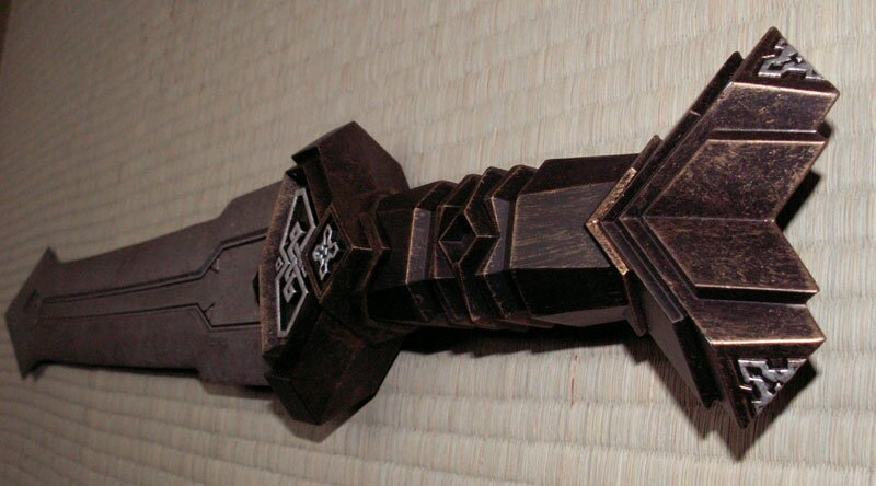 Additional photos: Hobbit - Thorin`s Dwarven Sword Replica Noble Collection