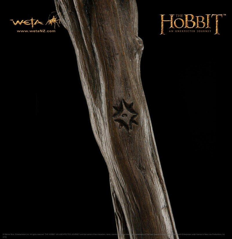 Additional photos: Hobbit - Staff of Radagast the Brown - Weta