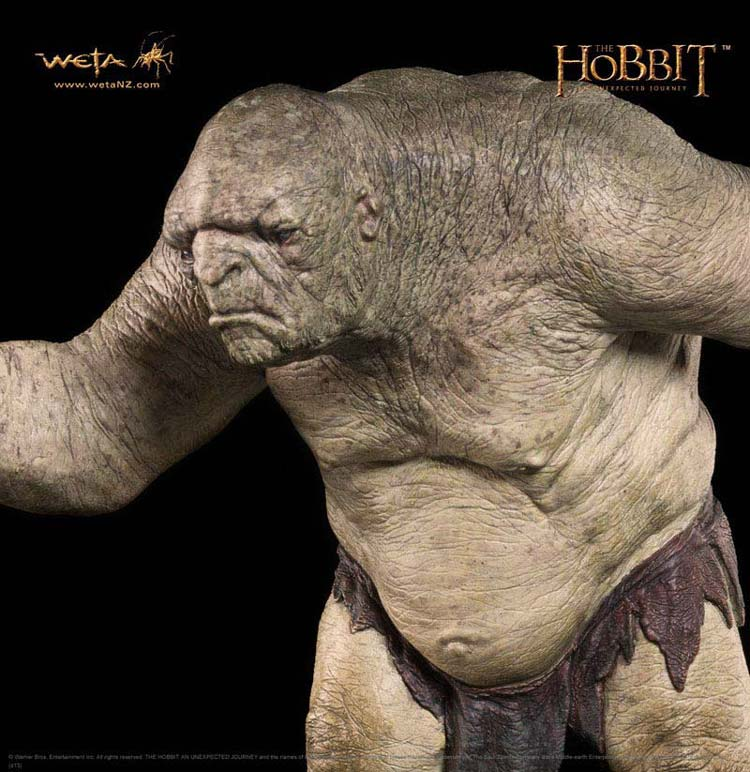 Additional photos: Hobbit - William the Troll - WETA