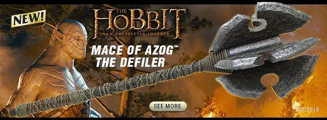 Additional photos: Hobbit - Mace of Azog The Defiler