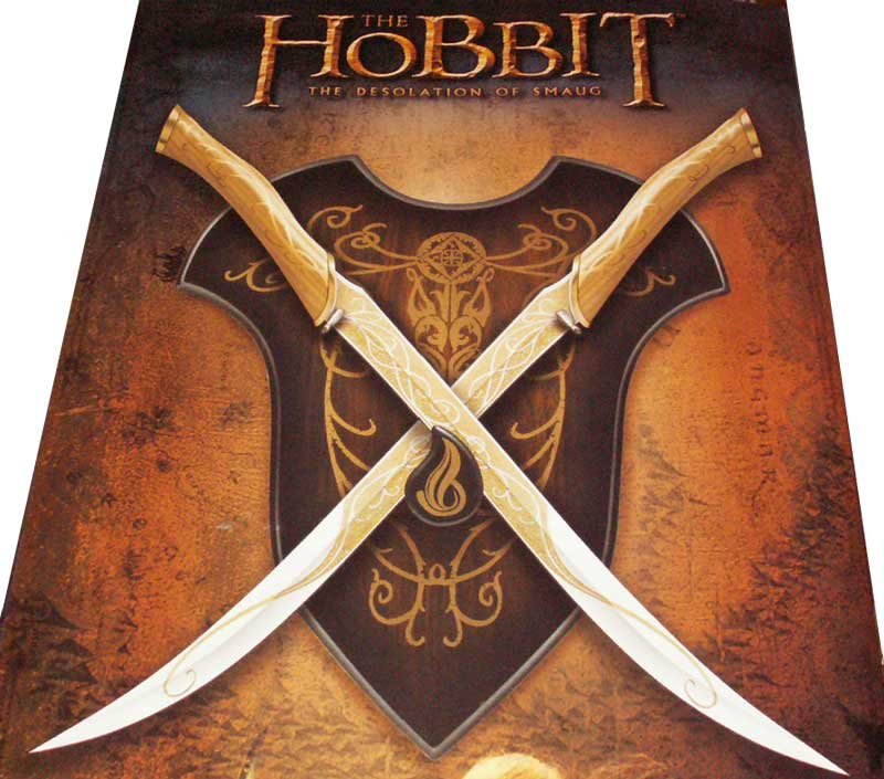 Fighting Knives of Legolas Greenleaf - Hobbit