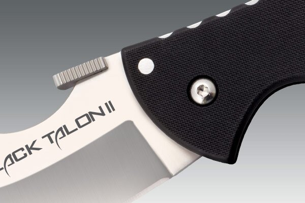 Additional photos: Knife Cold Steel Black Talon II Plain Edge XHP