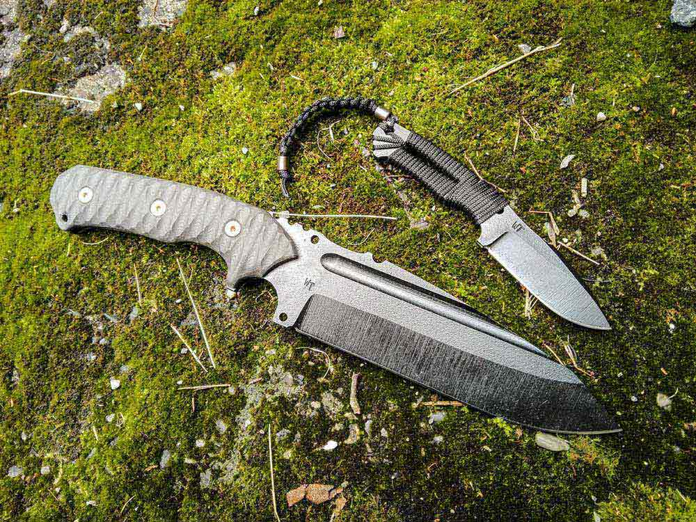 Knife Smilodon (the Oath) - Wander Tactical